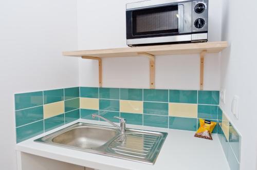 A kitchen or kitchenette at Szmulson