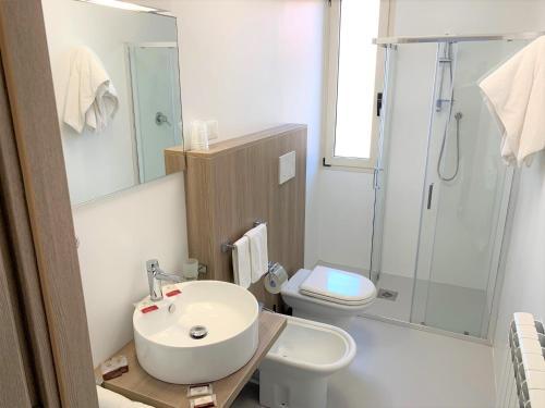 Koupelna v ubytování Hotel & Residence Al Mare