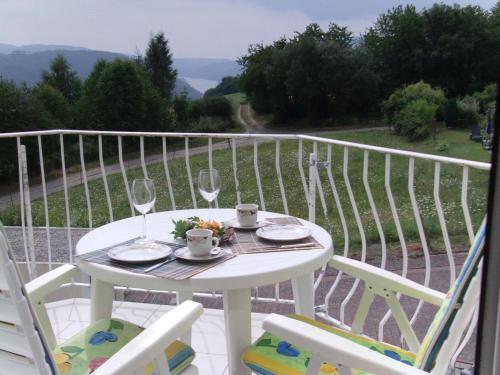 A balcony or terrace at Haus Barbara
