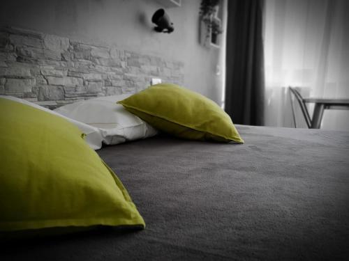 Letto o letti in una camera di Warrest