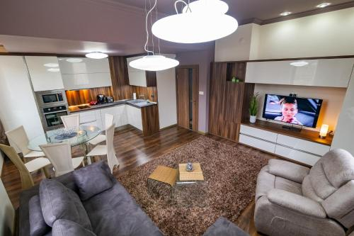 The lobby or reception area at Cosy Luxury Flat in the Centrum- 90sqm - 3 rooms.
