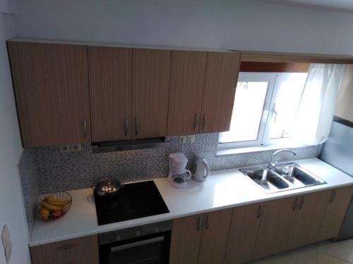 A kitchen or kitchenette at Sun Gazing Villas