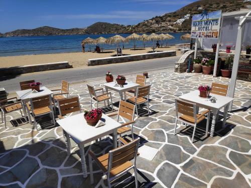 Restaurace v ubytování Mare Monte