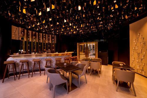 ห้องอาหารหรือที่รับประทานอาหารของ Kowloon Harbourfront Hotel