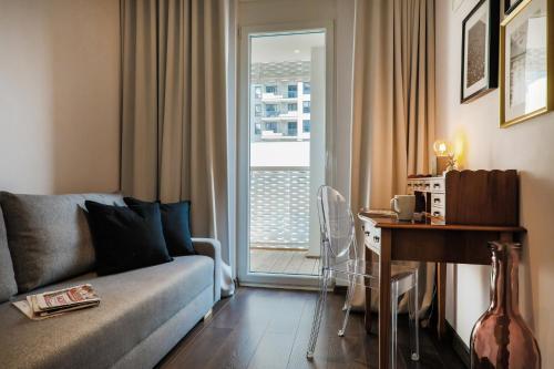 אזור ישיבה ב-Aparthotel Tower