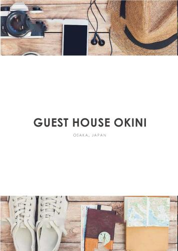 The floor plan of Guest House OkiniⅡ