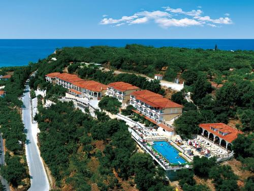 A bird's-eye view of Zante Palace
