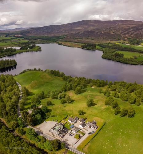 A bird's-eye view of The Rowan Tree Country Hotel
