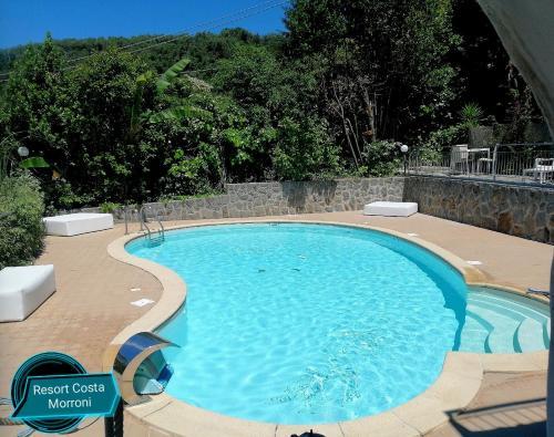 The swimming pool at or near Costa Morroni