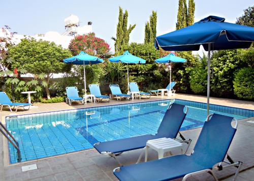 The swimming pool at or near Rododafni Villas