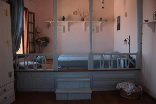 A bed or beds in a room at Astradeni