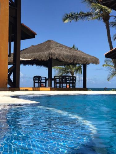 A piscina localizada em Anauí Pousada ou nos arredores