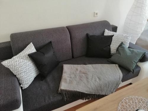 Posedenie v ubytovaní Comfort Terrace Apartment
