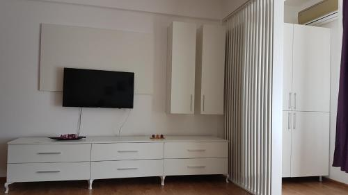 A television and/or entertainment center at Diana Apartment