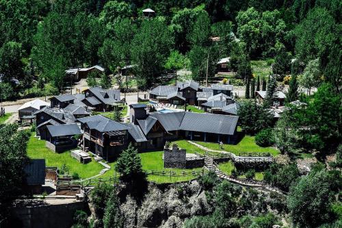Una vista aérea de Casona Familiar Potrerillos