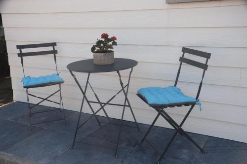 A balcony or terrace at Apartment Chez Vanes'sens