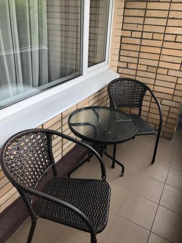 Балкон или терраса в Hostel RAMN