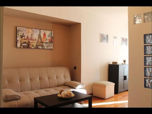 Zona de estar de Precioso Apartamento a primera linea Playa