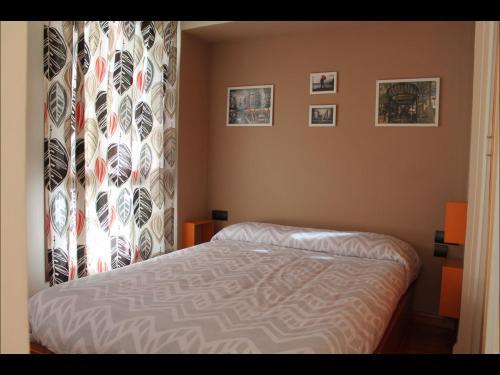 Cama o camas de una habitación en Precioso Apartamento a primera linea Playa