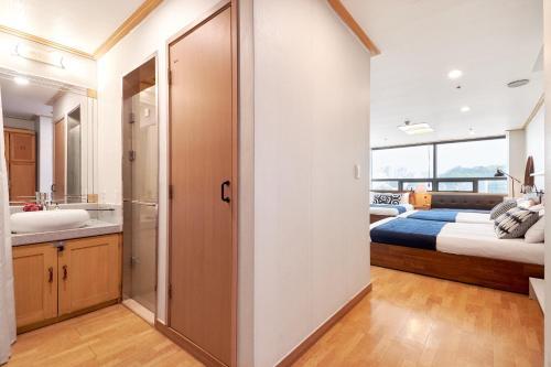 ห้องน้ำของ Willow House Hongdae