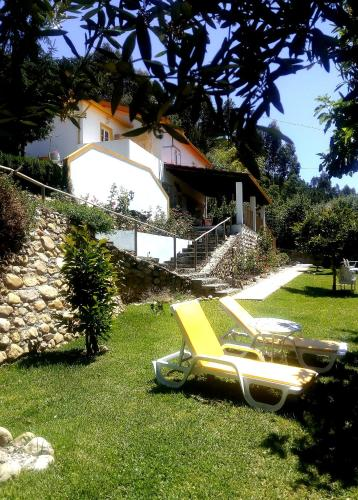 Jardín al aire libre en Magnolias Cottage
