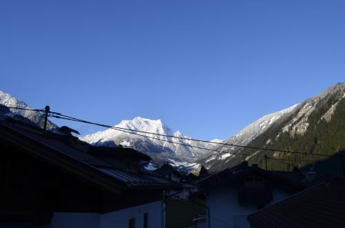 Apartment Hausberger im Winter