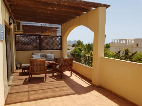 Un balcón o terraza de Residencial Villa Marina CC1