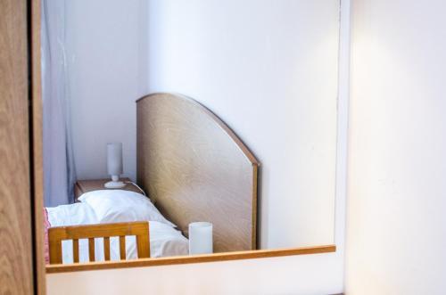 Una cama o camas en una habitación de Complejo Granaderos