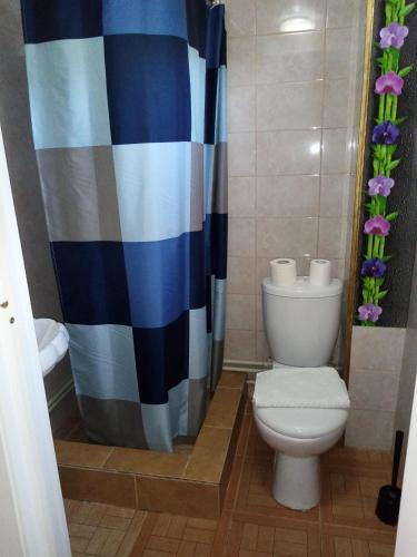 A bathroom at Guest House on Pyatigorskaya Street
