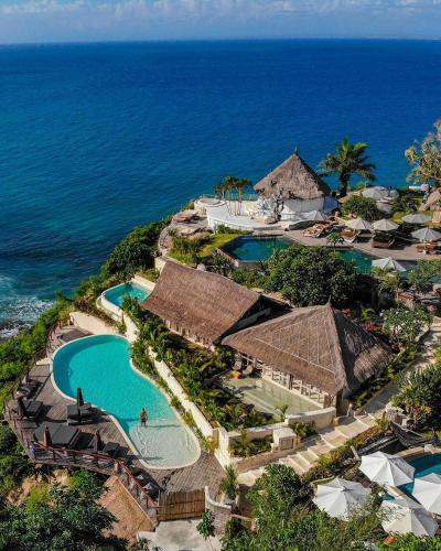 Vue panoramique sur l'établissement La Joya Biu Biu Resort