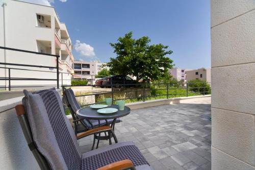 A balcony or terrace at Felix