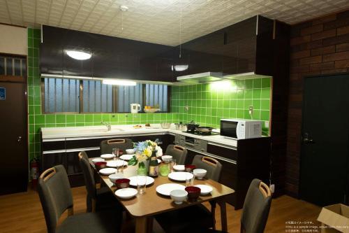 Miyakojima Villa Plumeriaにあるレストランまたは飲食店