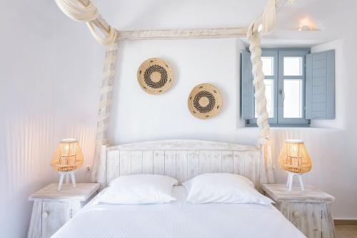A bed or beds in a room at Villa Vanta