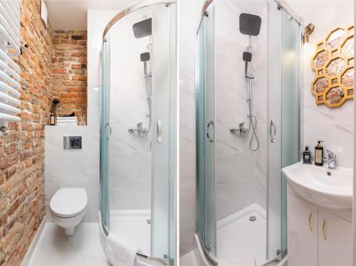 A bathroom at Rent like home - Nowolipie 5