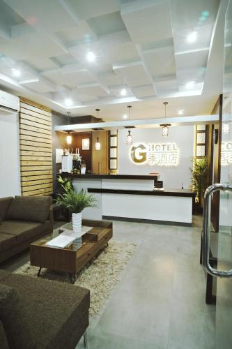 The lobby or reception area at G HOTEL