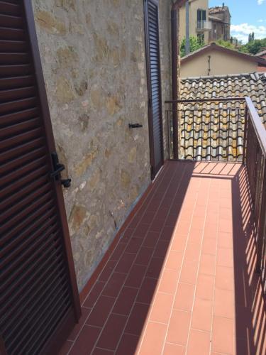 A balcony or terrace at Appartamento San Feliciano
