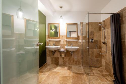 Koupelna v ubytování Aparthotel Ostseeperle Glowe