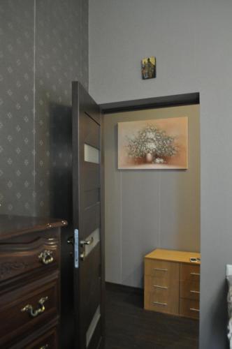 A bathroom at Apartament Preobragenskay