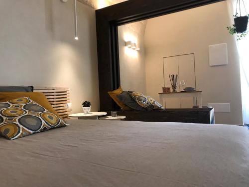 Letto o letti in una camera di La Casupola