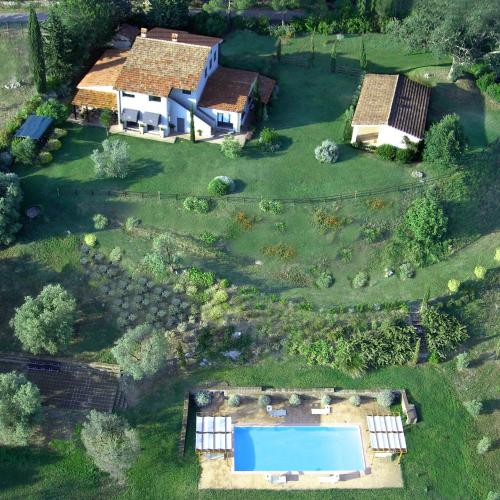A bird's-eye view of Agriturismo Quercia Rossa Rural House