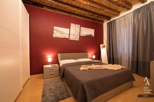 Letto o letti in una camera di DeTillier53 - Alp Apartments