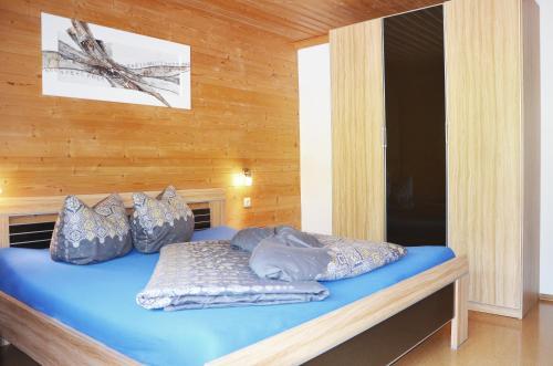 Ein Bett oder Betten in einem Zimmer der Unterkunft Appartments Enterwald
