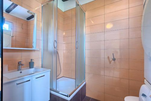 Kupaonica u objektu Apartment Marlera