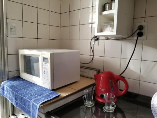 Una cocina o kitchenette en Peatonal