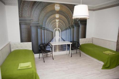 A seating area at Hotel Planernaya