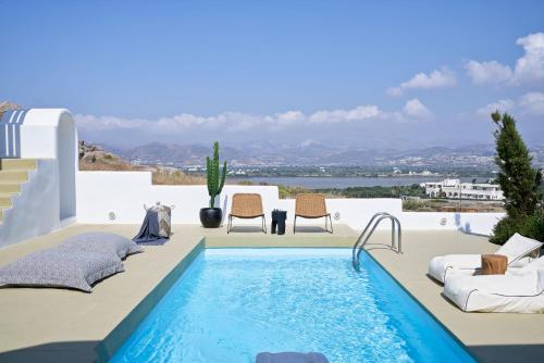 The swimming pool at or near Naxian Utopia | Luxury Villas & Suites