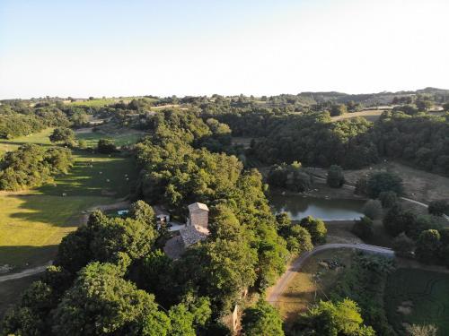 Vista aerea di La Torre del Bennicelli
