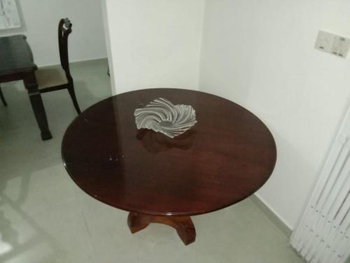 Zonă de luat masa în acest apartament