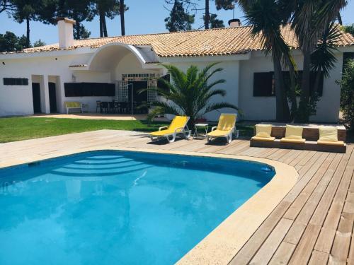 The swimming pool at or near Villa near Beach & Lisbon