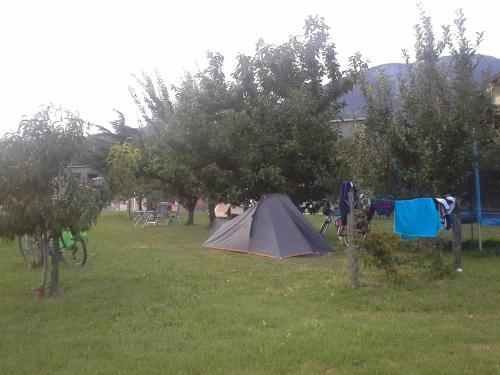 Vrt pred nastanitvijo Turistična kmetija Pri Rebkovih